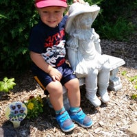 Photo taken at Greenfield Public Library by Stephanie S. on 7/18/2014