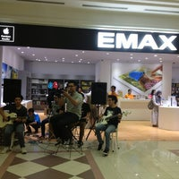 Photo taken at EMAX Apple Store by Vidi S. on 2/23/2013