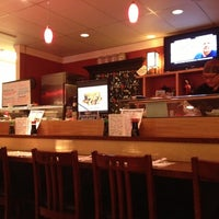Photo taken at Sushi House by Christina B. on 9/29/2012