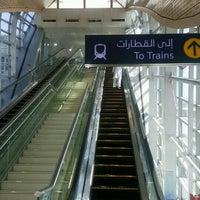 Photo taken at Emirates Metro Station محطة مترو طيران الإمارات by Molefi S. on 10/26/2016