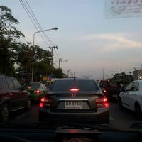 Photo taken at Kaset-Sena Nikhom Intersection by Dusit D. on 12/16/2012