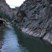 Photo taken at Seven Falls by Isaiah F. on 8/31/2018