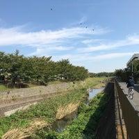 Photo taken at 三沢川親水公園 by Watalu Y. on 10/9/2017