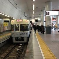 Photo taken at Inokashira Line Shibuya Station (IN01) by Watalu Y. on 2/13/2013