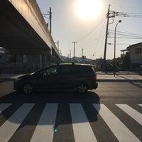 Photo taken at 東長沼陸橋 交差点 by Watalu Y. on 5/20/2017