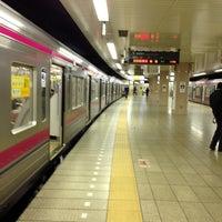 Photo taken at Keiō-hachiōji Station (KO34) by Watalu Y. on 4/27/2013