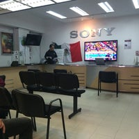 Photo taken at Sony Service Shop Roma by Arturo A. on 6/30/2014
