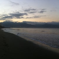 Photo taken at Bay View Grand Beach by Grace R. on 2/5/2014