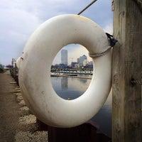 Photo taken at Milwaukee Community Sailing Center by Melinda on 4/22/2014