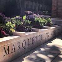 Photo taken at Marquette University by Melinda on 7/13/2013