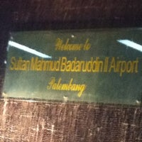 Photo taken at Sultan Mahmud Badaruddin II International Airport (PLM) by Dewi P. on 11/28/2012