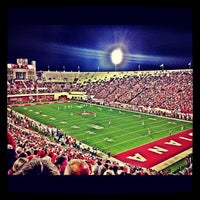 Photo taken at Memorial Stadium by Michael M. on 10/14/2012