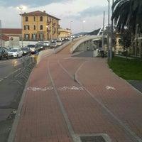 Photo taken at Ponte Di Viale San Bartolomeo by Sergio M. on 3/10/2016