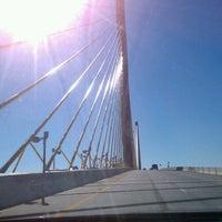Photo taken at Sunshine Skyway Bridge by Liz M. on 11/10/2012