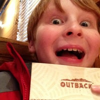 Photo taken at Outback Steakhouse by Paul C. on 1/15/2013