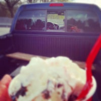 Photo taken at Brusters Ice Cream by Christine G. on 4/16/2015