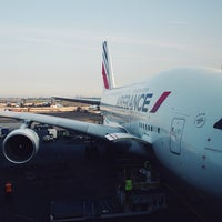 Photo taken at Air France - Flight AF 7 by Peter W. on 8/5/2014