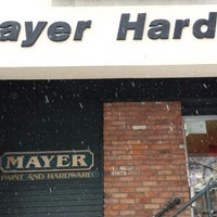 Photo taken at Mayer Hardware  Inc by Paula S. on 1/3/2014
