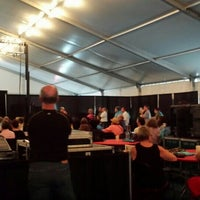 Photo taken at XRIJF Big Tent by Paula S. on 6/18/2015