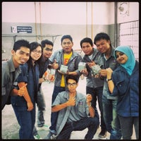 Photo taken at Concrete Lab Faculty Of Civil Engineering by 'Aizat A. on 4/20/2013