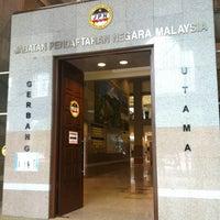 Photo taken at Jabatan Pendaftaran Negara (JPN) by Pajill N. on 1/25/2013