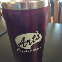 Photo taken at Art's Bagels and More by Mike F. on 5/8/2013