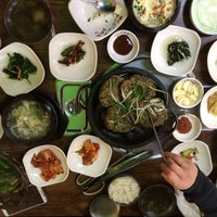 Photo taken at 특미관 / Teuk Mi Gwan Green Tea Restaurant by Joan on 1/16/2015