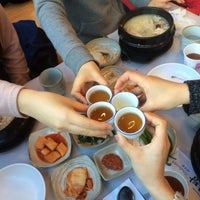 Photo taken at 고려삼계탕 by Joan on 1/17/2015