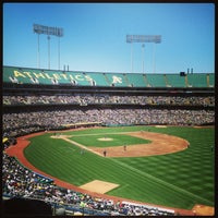 Photo taken at O.co Coliseum by Justin O. on 6/13/2013