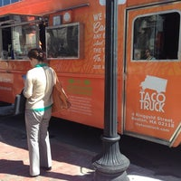 Photo taken at The Taco Truck by R. Andre C. on 4/10/2014