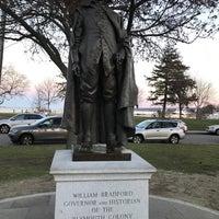 Photo taken at William Bradford Statue by Bill W. on 11/25/2017