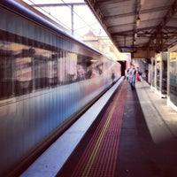 Photo taken at South Yarra Station by Lee A. on 3/10/2013