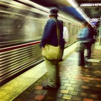 Photo taken at 7th St/Metro Center (Julian Dixon) Metro Station by Lee A. on 11/27/2012