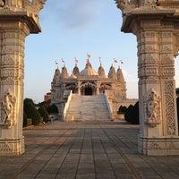 Photo taken at BAPS Shri Swaminarayan Mandir by Michał S. on 8/25/2013