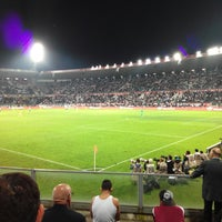 Photo taken at Estádio D. Afonso Henriques by Rafael S. on 11/1/2014