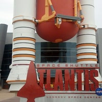 Photo taken at Atlantis Exhibit Kennedy Space Center by Steven H. on 7/23/2013