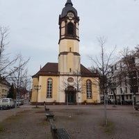 Photo taken at Mühlburg by Ilias C. on 11/13/2016