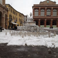 Photo taken at Fontana della Pigna by Namer M. on 2/11/2012