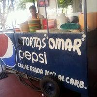 Photo taken at Tortas Don Omar by Gerardo E. on 6/18/2012