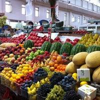 Photo taken at Торжковский рынок by Medvedeva K. on 8/11/2012