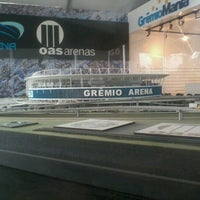 Photo taken at Construção da Arena do Grêmio by Greice F. on 7/23/2012