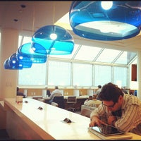 Photo taken at Delta Sky Club by Madalena L. on 12/7/2012