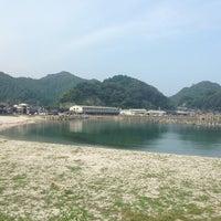 Photo taken at 諸寄海岸 by ft k. on 9/14/2013