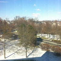 Photo taken at Hilton Stamford Hotel & Executive Meeting Center by Alejandra I. on 1/26/2013