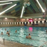 Photo taken at Shute Park Aquatic & Recreation Center (SHARC) by Kumaran B. on 10/25/2012