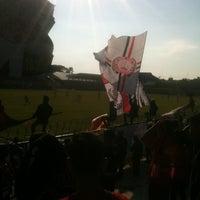 Photo taken at Stadion Krida Rembang by Agamone A. on 4/25/2014