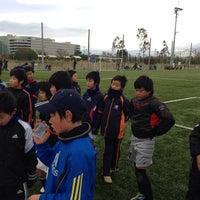 Photo taken at セレッソ大阪舞洲人工芝グランド by 啓志 梅. on 12/21/2013