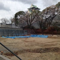 Photo taken at 大阪城豊臣期石垣 by 啓志 梅. on 12/17/2013