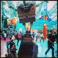 Photo taken at Nickelodeon Universe® by Aaron E. on 1/26/2013