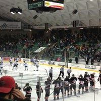 Photo taken at Thompson Arena at Dartmouth by Qi G. on 3/2/2013
